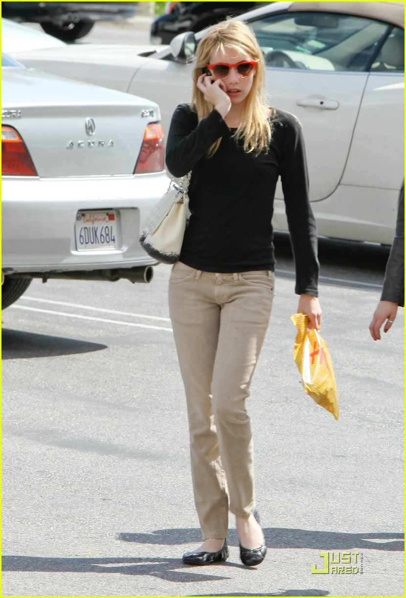 emma roberts parking lot sale 15