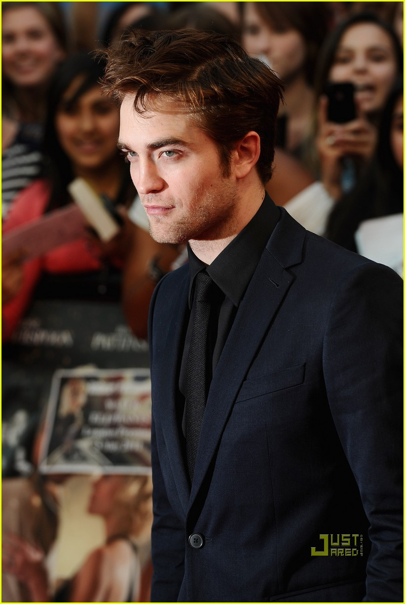 robert pattinson water for elephants uk premiere 01