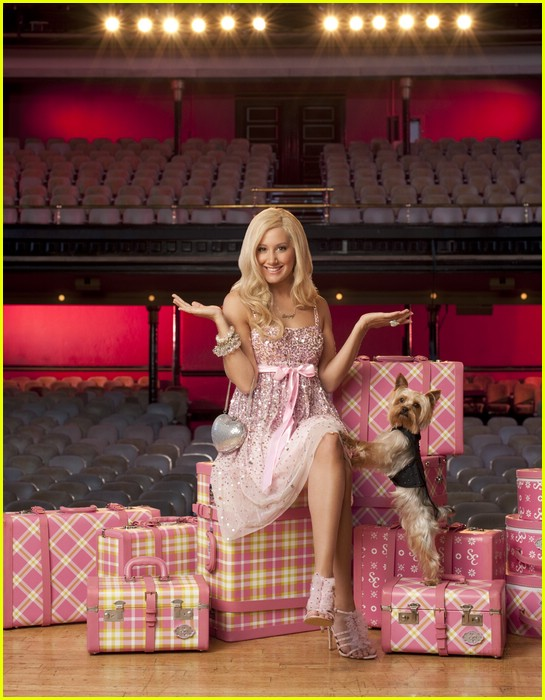 ashley tisdale sharpay dogs 06