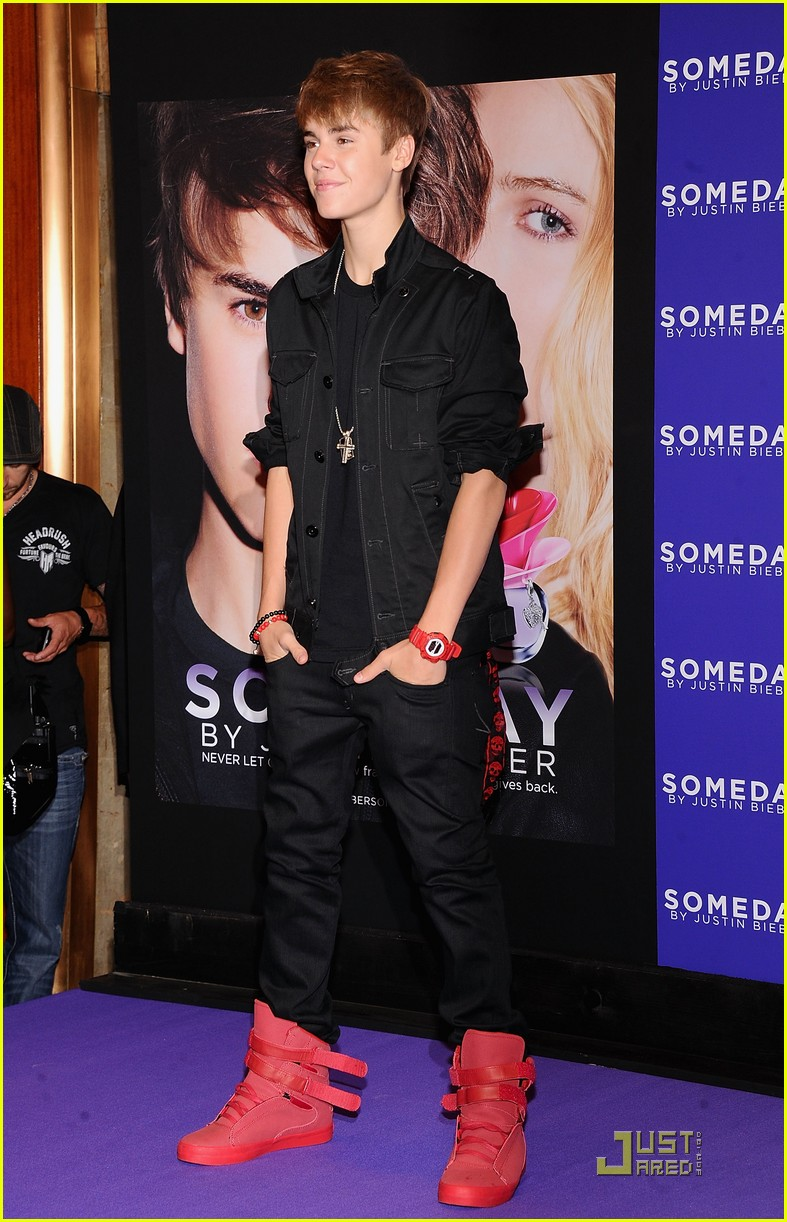 justin bieber someday launch 21