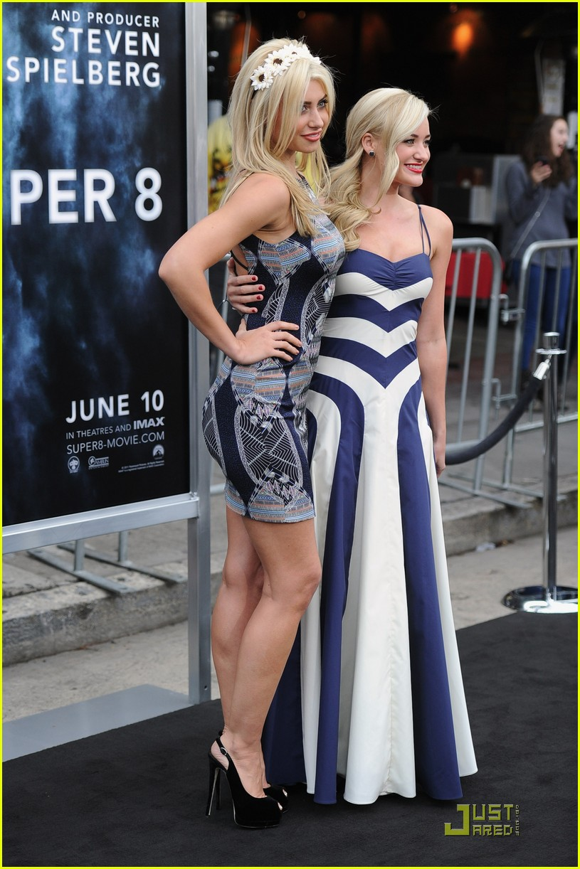 Aly and AJ Michalka at Super 8 Blu-ray and DVD Release Event ...