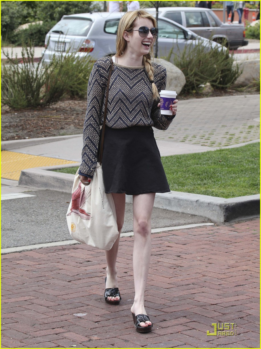 emma roberts coffee bean 09