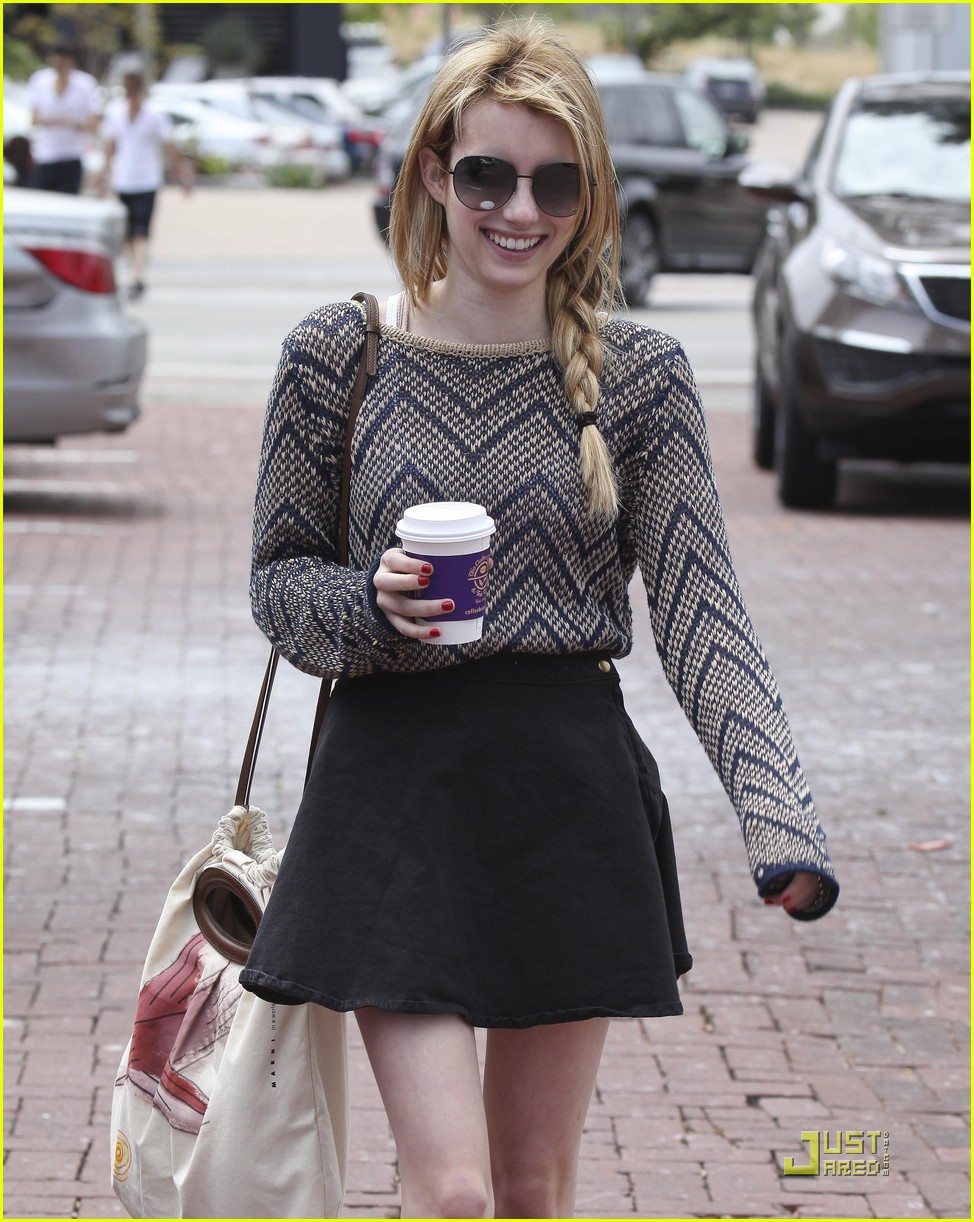 emma roberts coffee bean 13