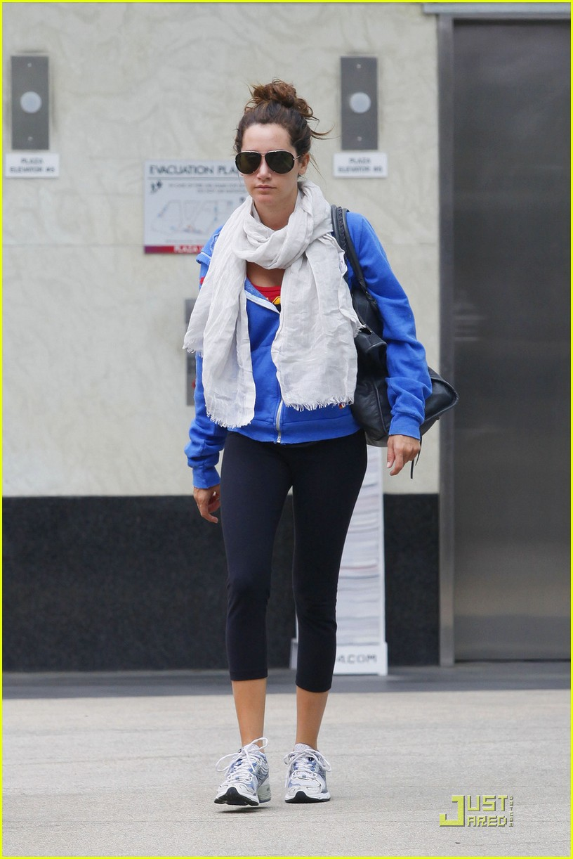 ashley tisdale blue hoodie 10
