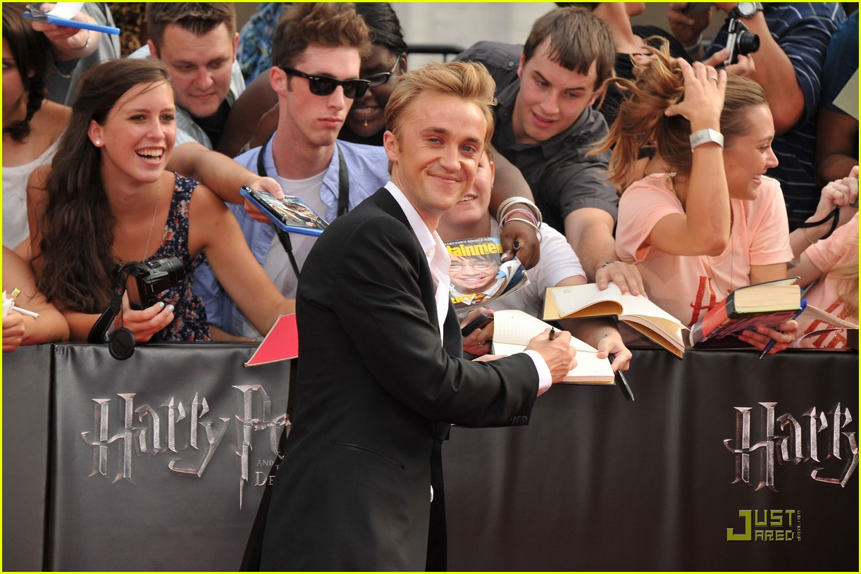 tom felton hp nyc 09