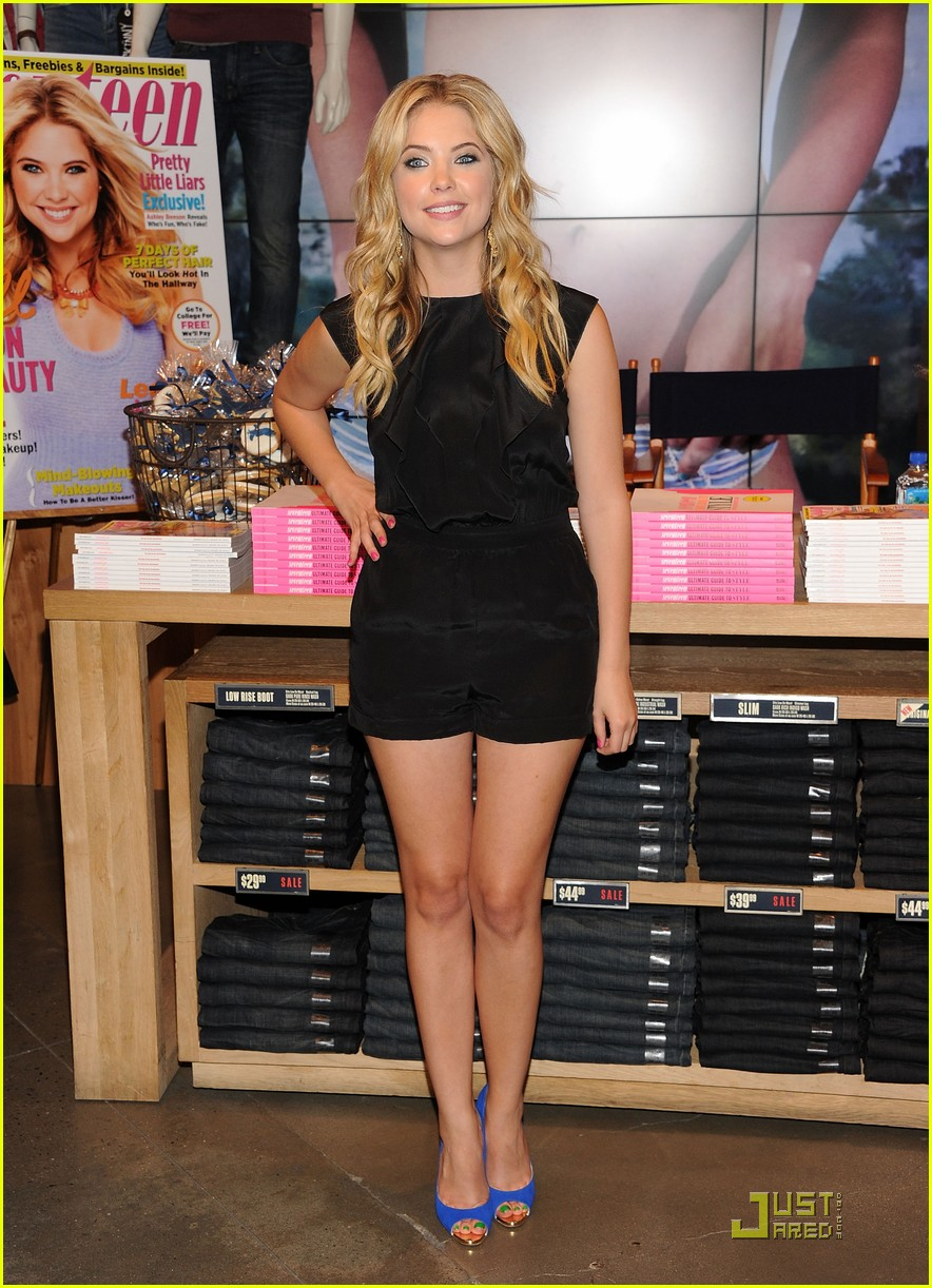 ashley benson seventeen nyc 01