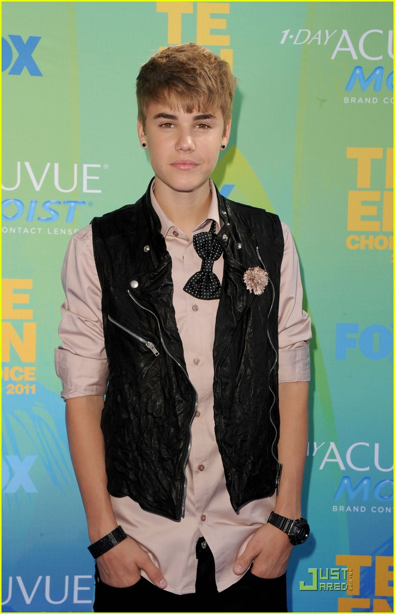 justin bieber teen choice 21