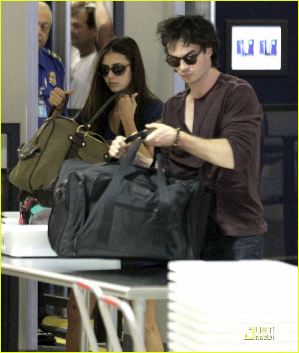 nina dobrev ian airport 05