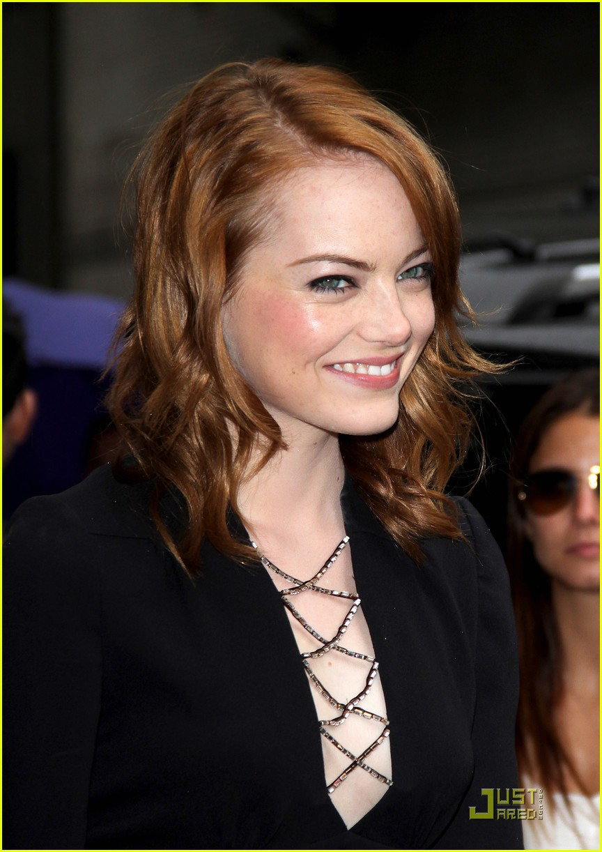 emma stone letterman 13