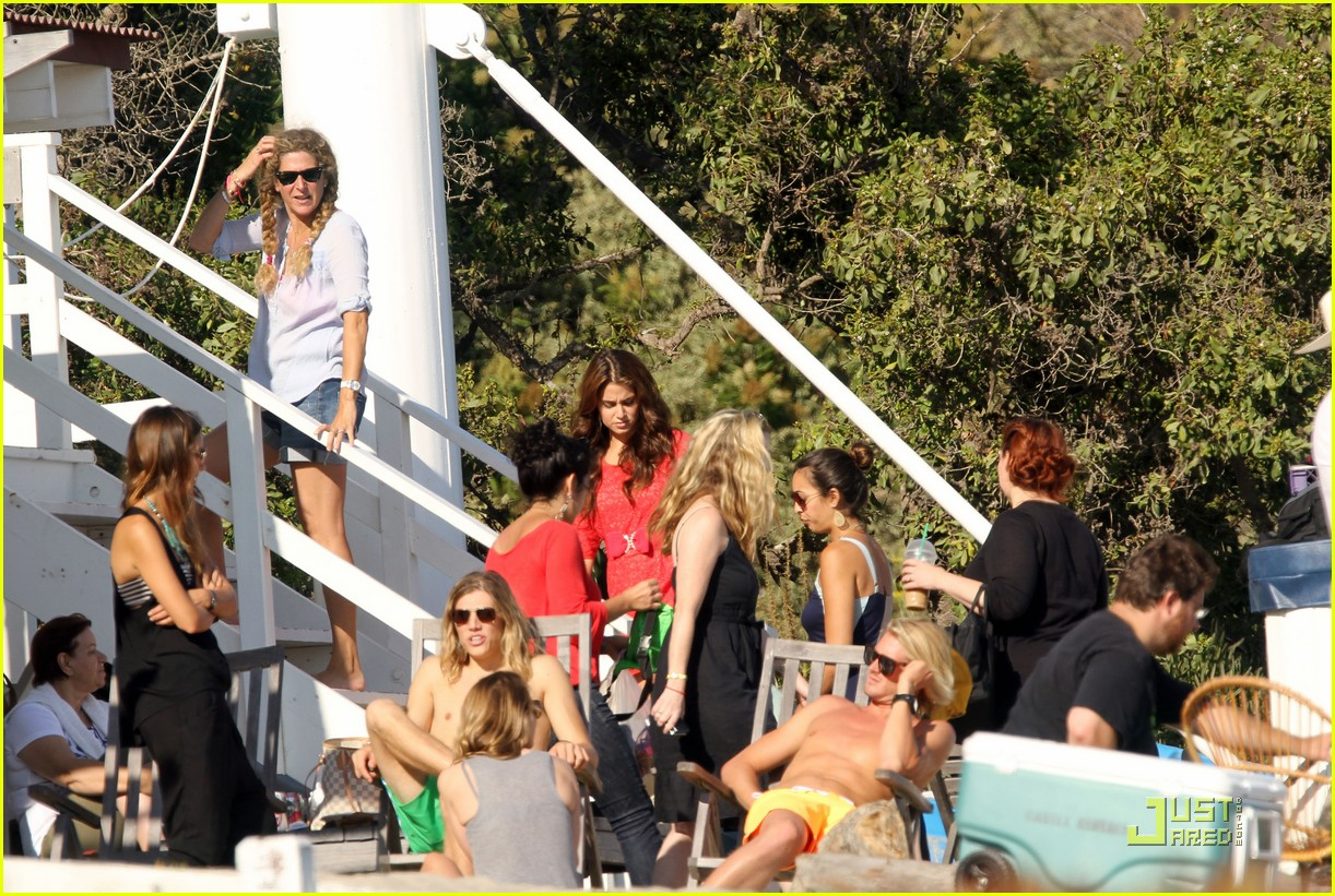 nikki reed beach shoot 05