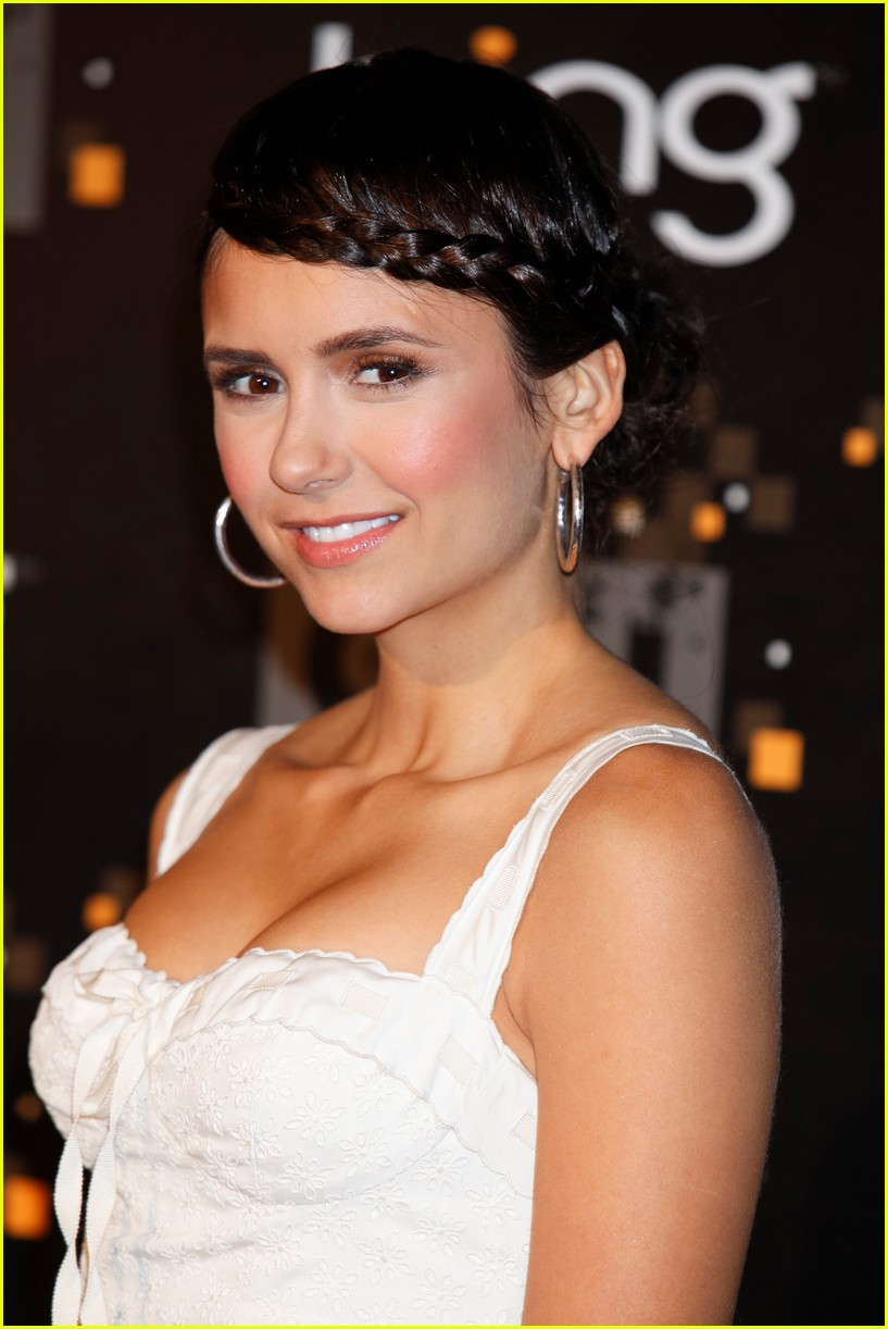 nina dobrev cw party 04