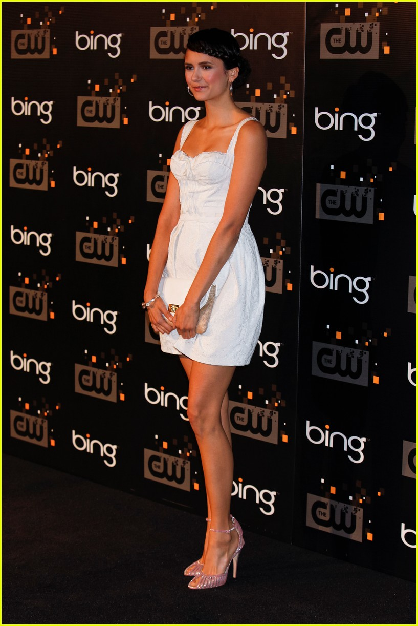 nina dobrev cw party 06