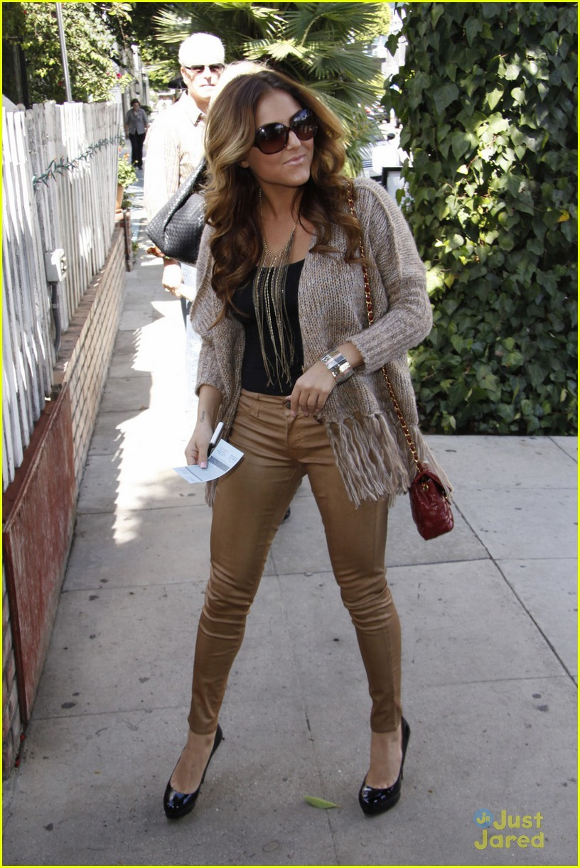 cassie scerbo ivy lunch 07