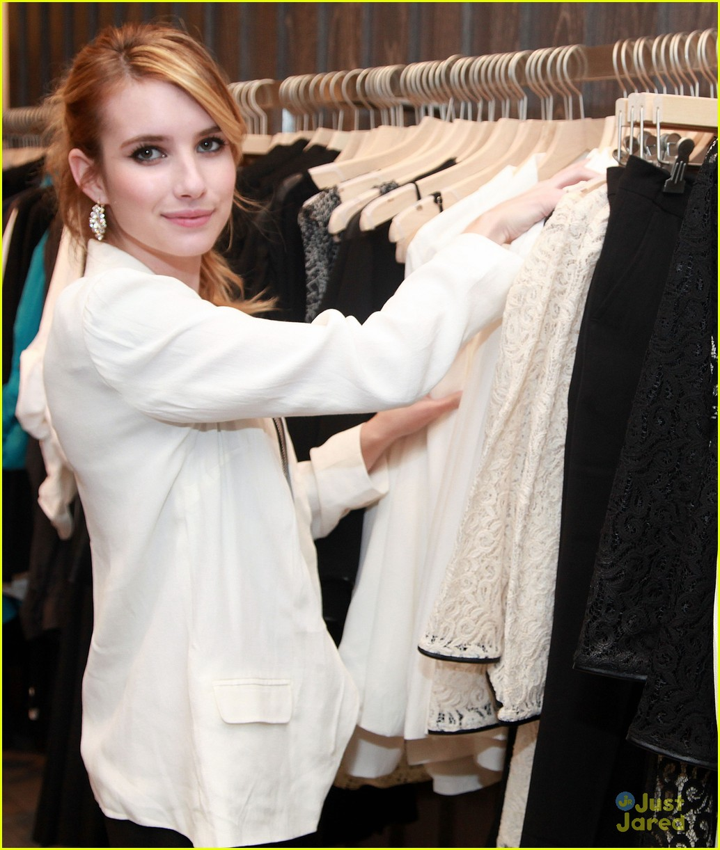 emma roberts denim event 10