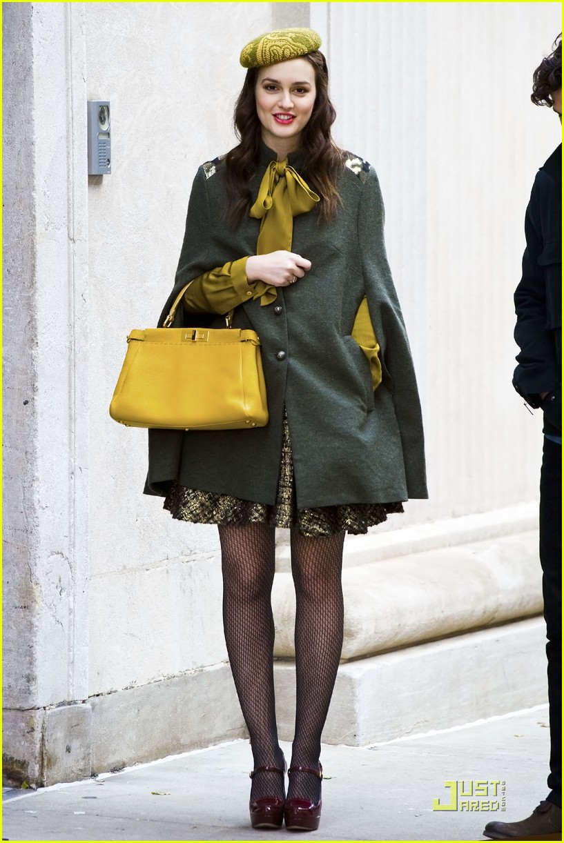 leighton meester gg greencoat 02