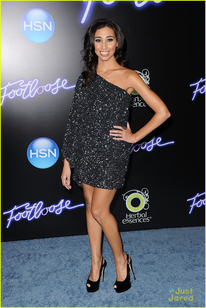 ziah colon footloose premiere 02