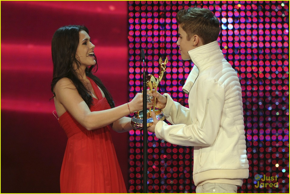justin bieber bambi awards 16