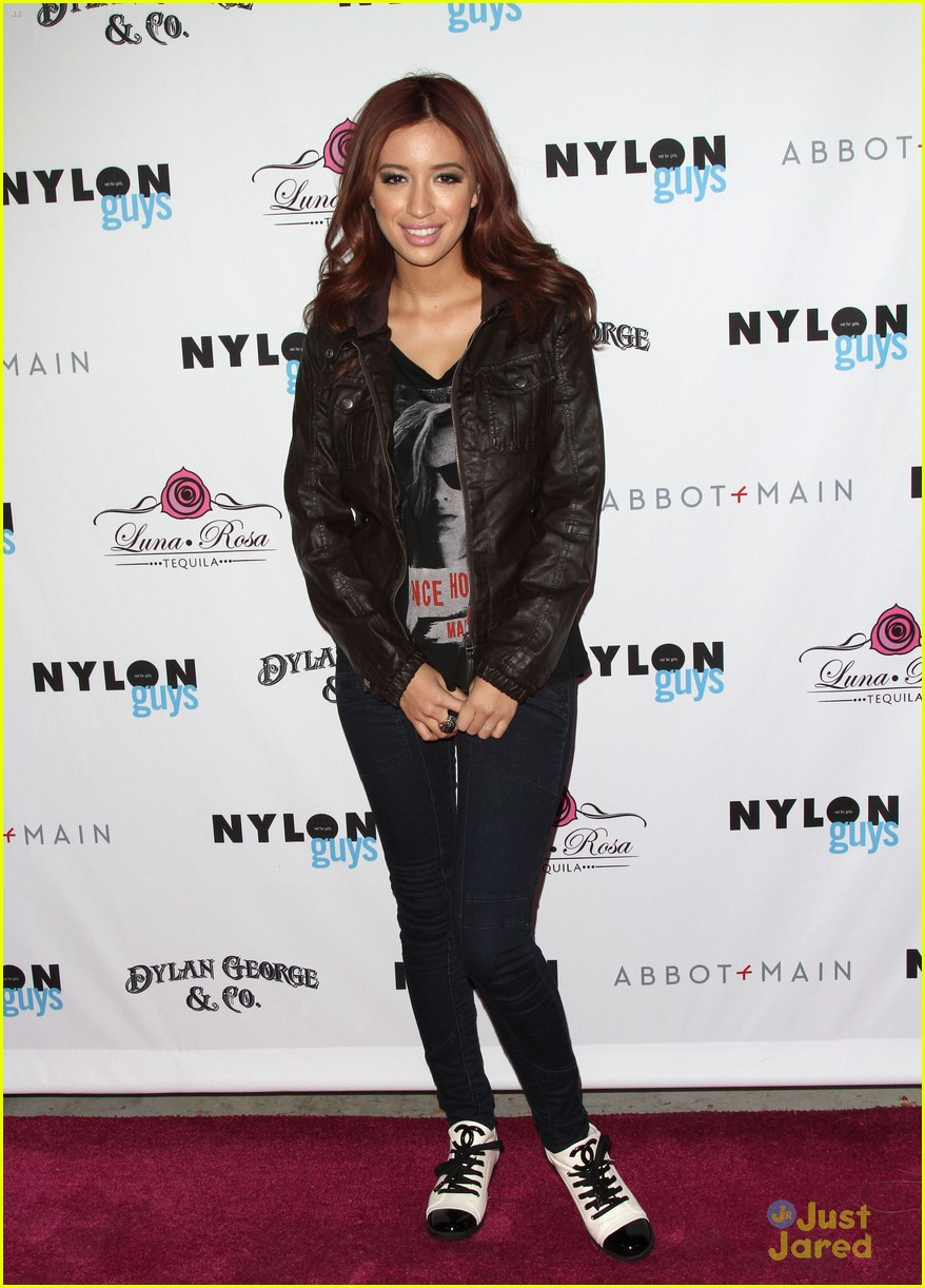 christian serratos nylon guys party 03