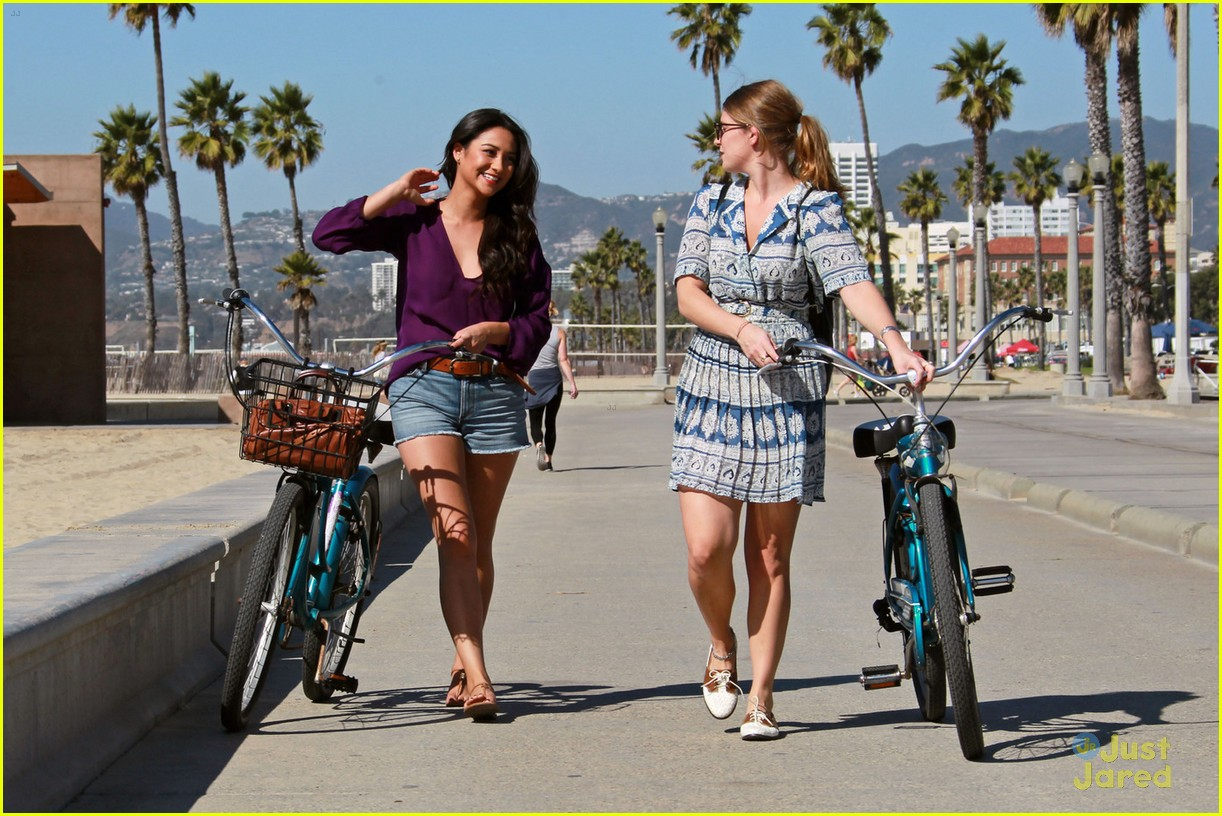 shay mitchell bike ride 07