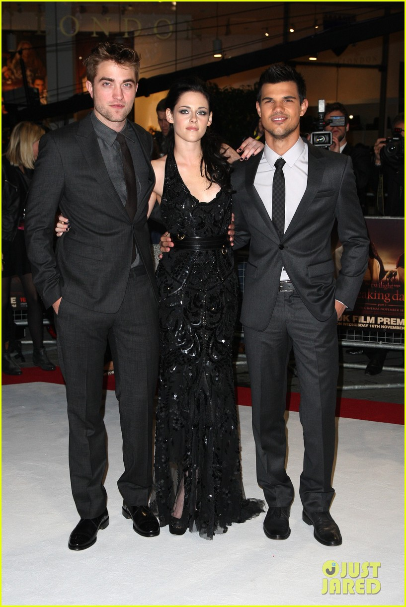 kristen stewart robert pattinson breaking dawn london 01