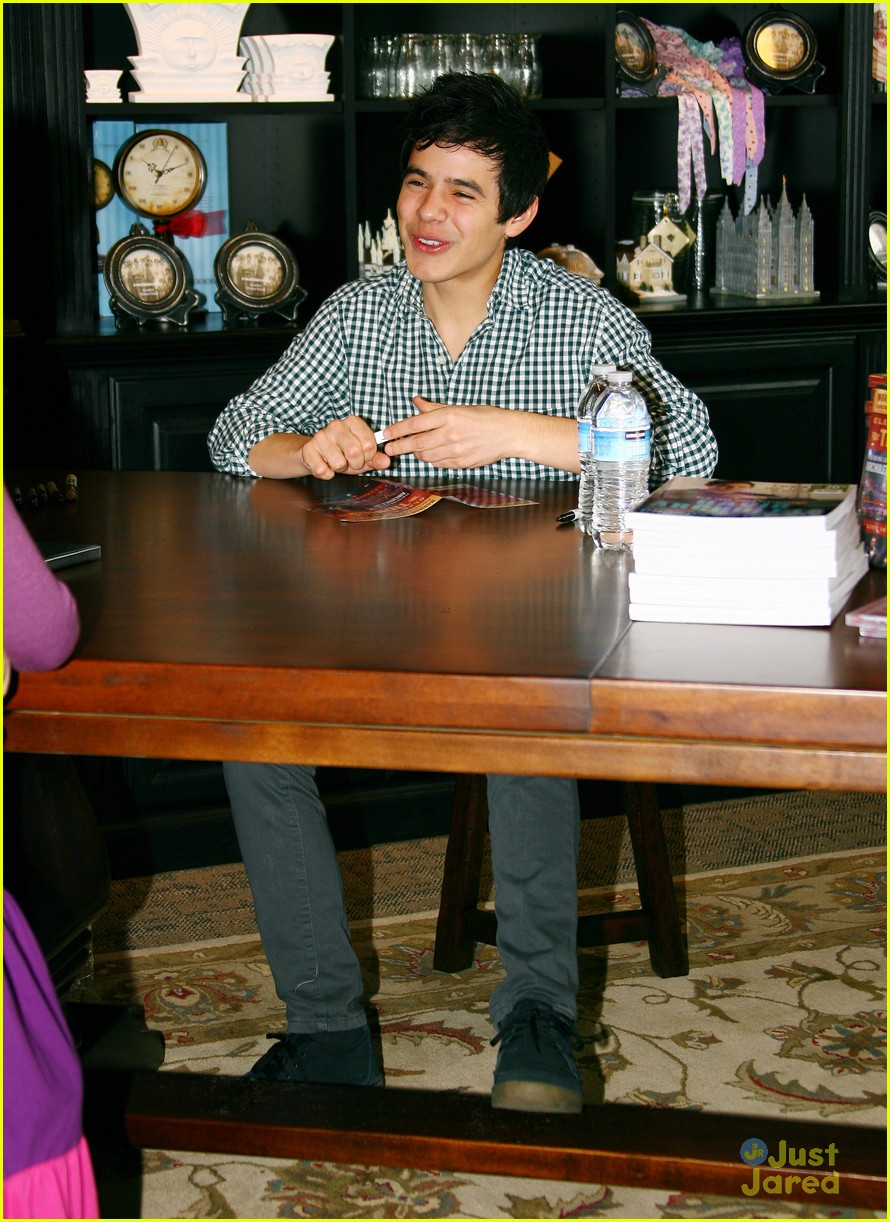 david archuleta book signing 05
