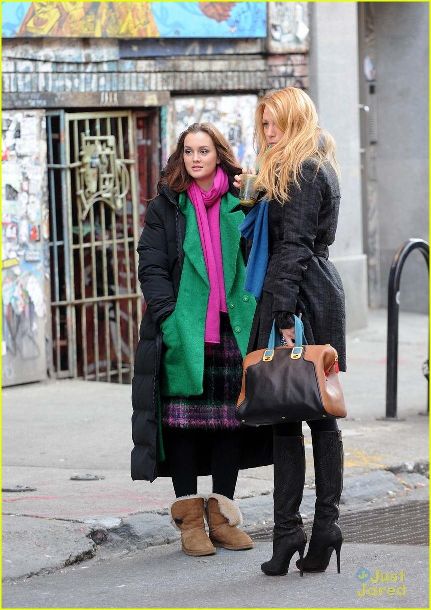 leighton meester green gg 02