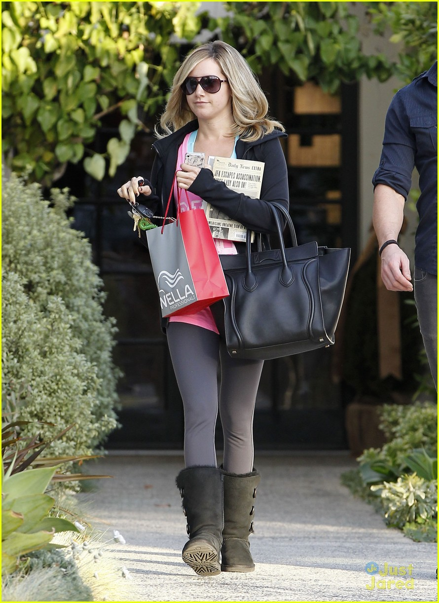 ashley tisdale salon stop 11