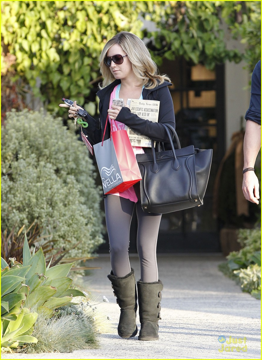 ashley tisdale salon stop 12