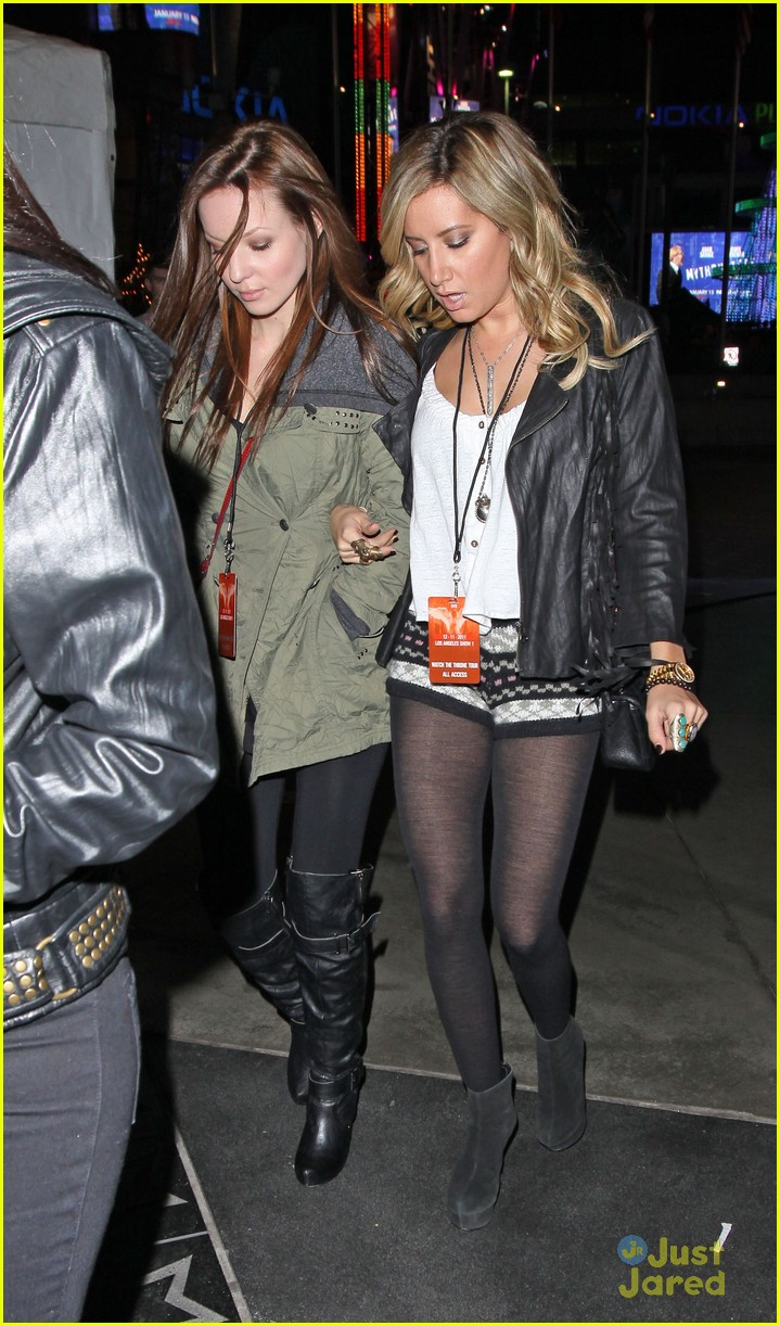 ashley tisdale staples center 02