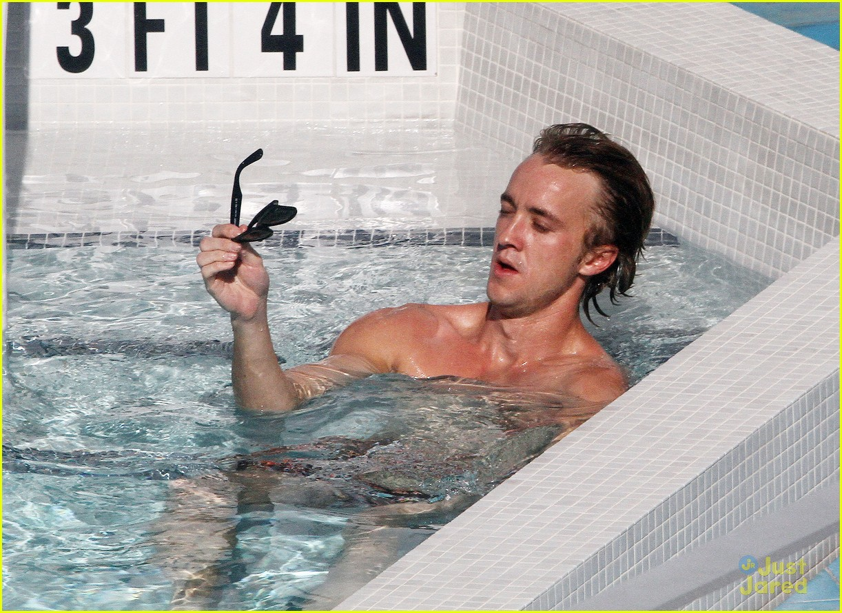 tom felton pool jade olivia 15