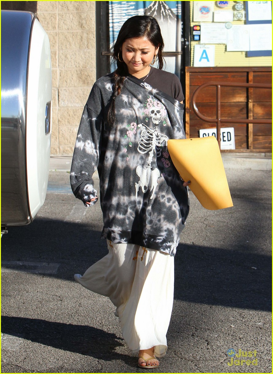 brenda song skull sweater 12