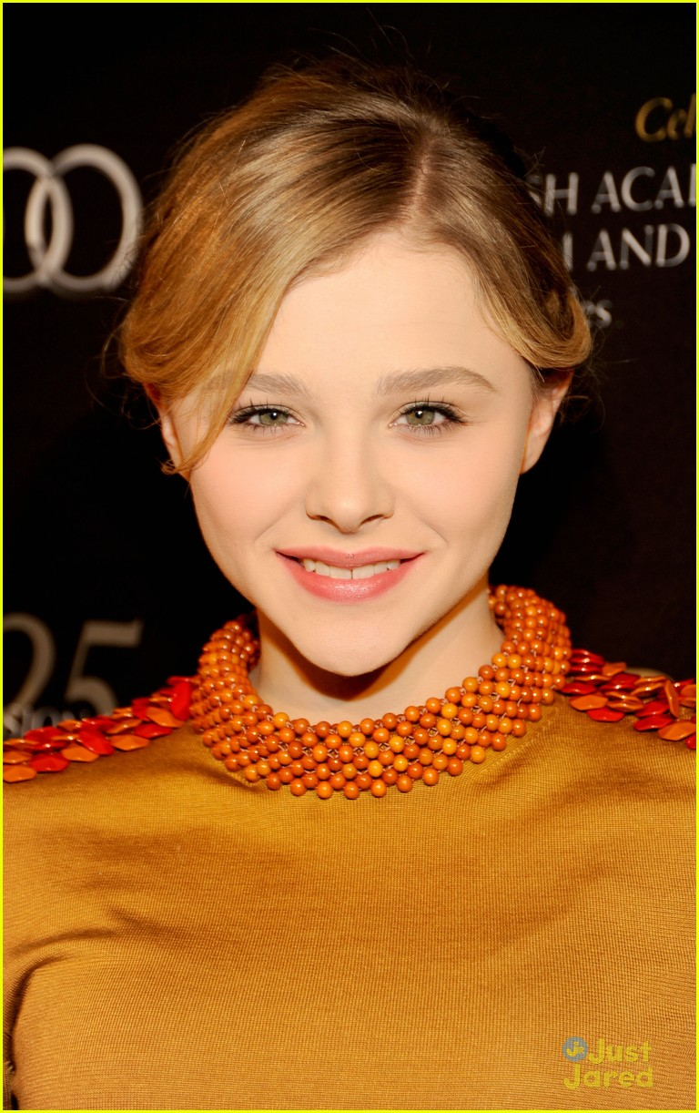 chloe moretz asa butterfield bafta tea 08