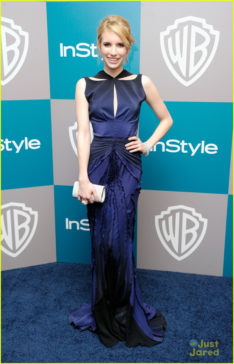 emma roberts instyle gg party 05