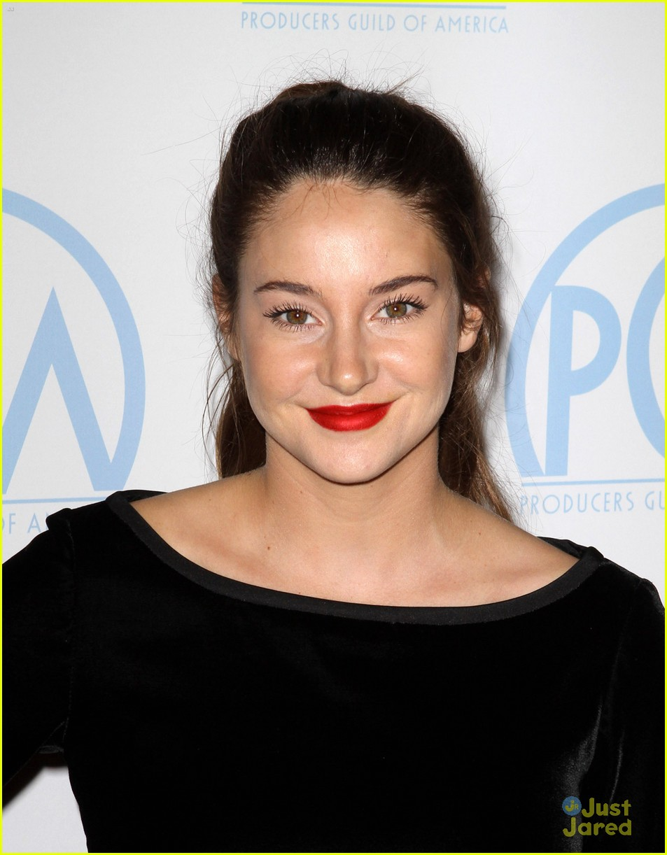 shailene woodley producers guild 13