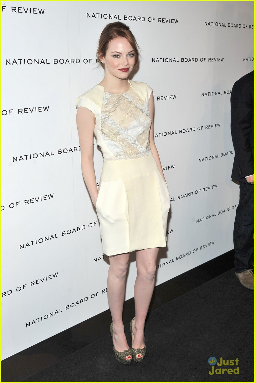 emma stone board review gala 07