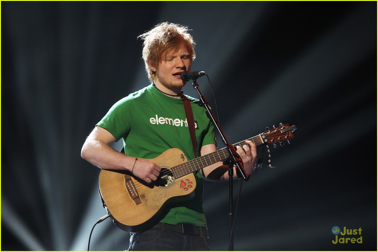 ed sheeran brits 2012 12