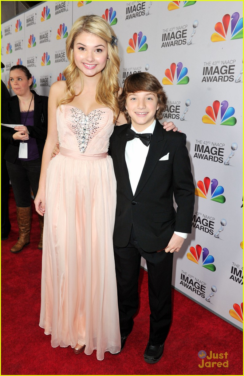 stefanie scott jake short image awards 11