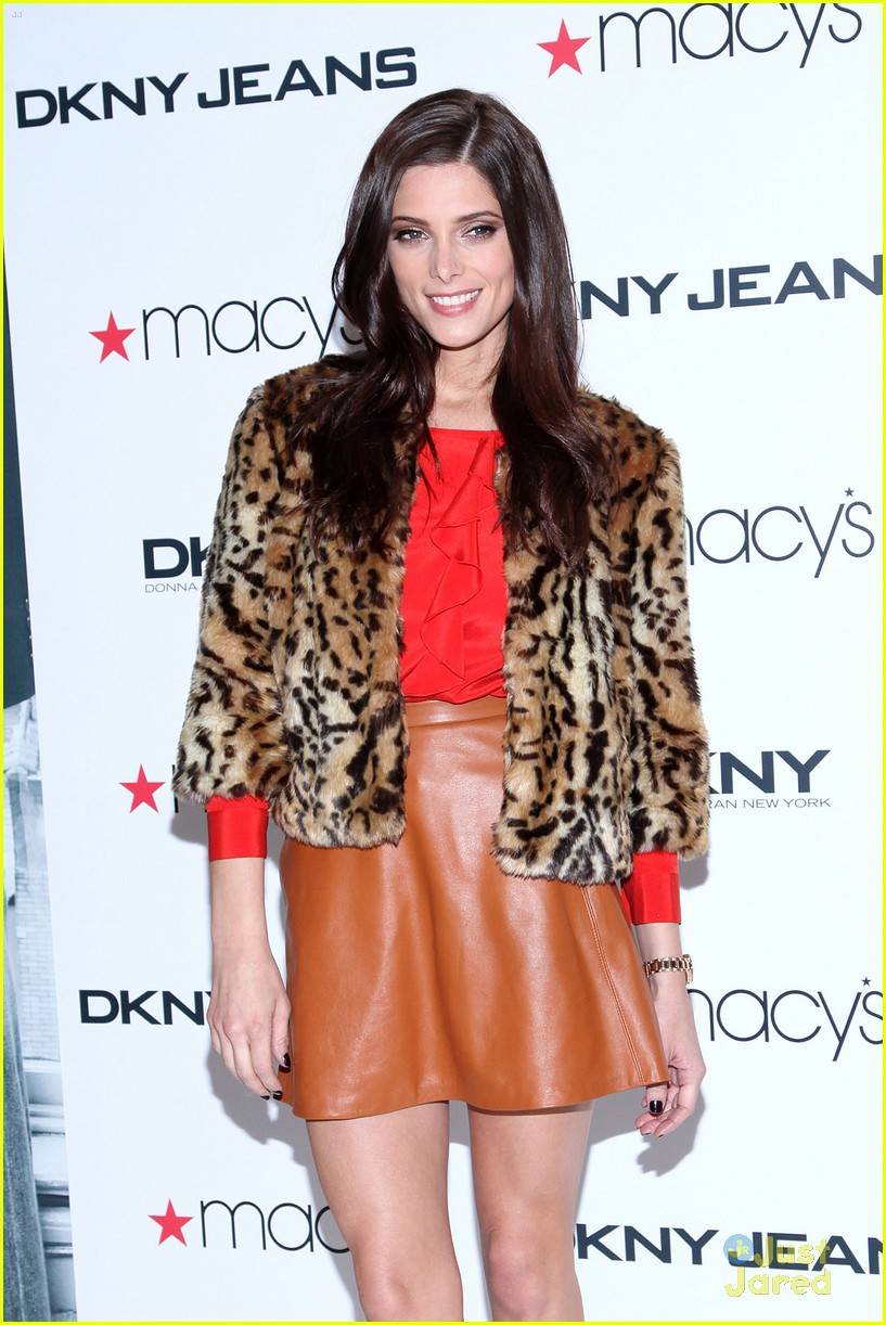 ashley greene dkny macys 02