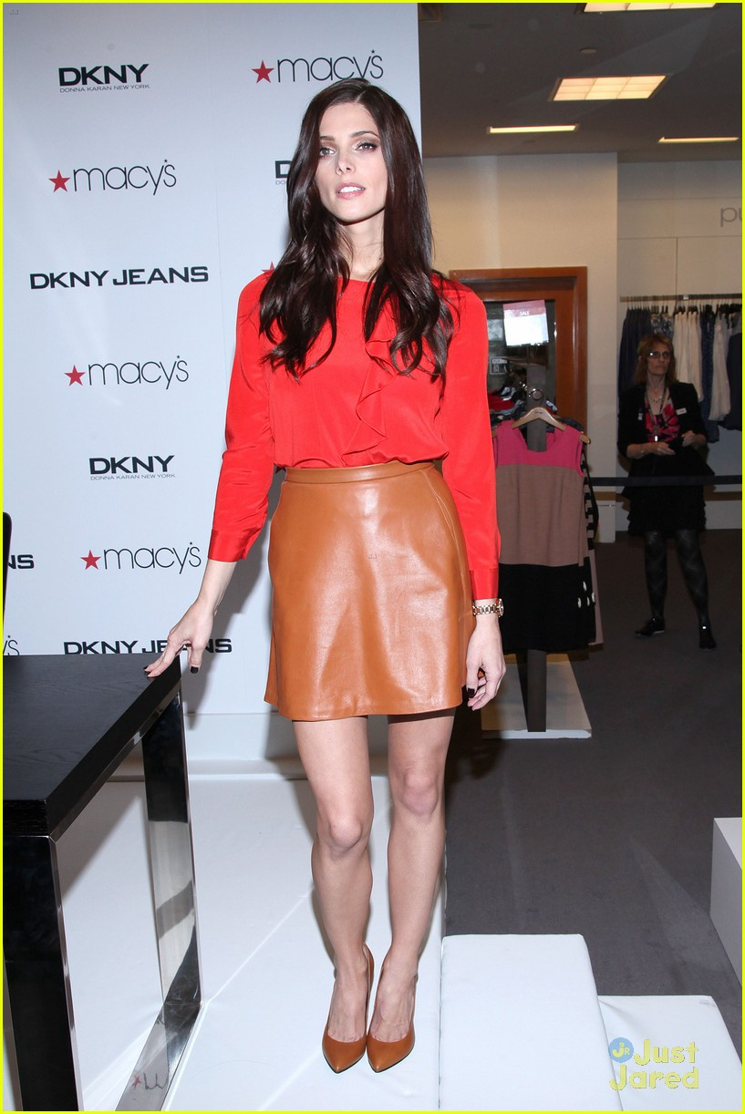 ashley greene dkny macys 06