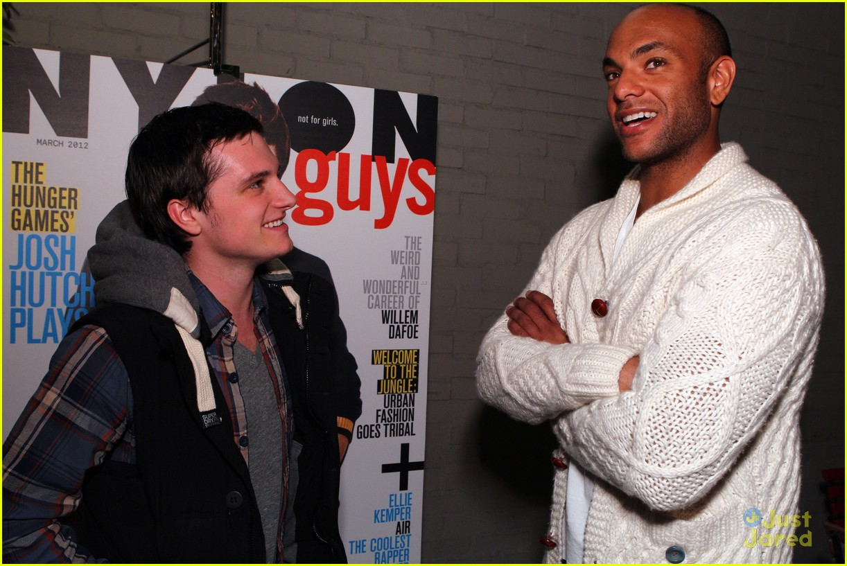 josh hutcherson nylon party 06
