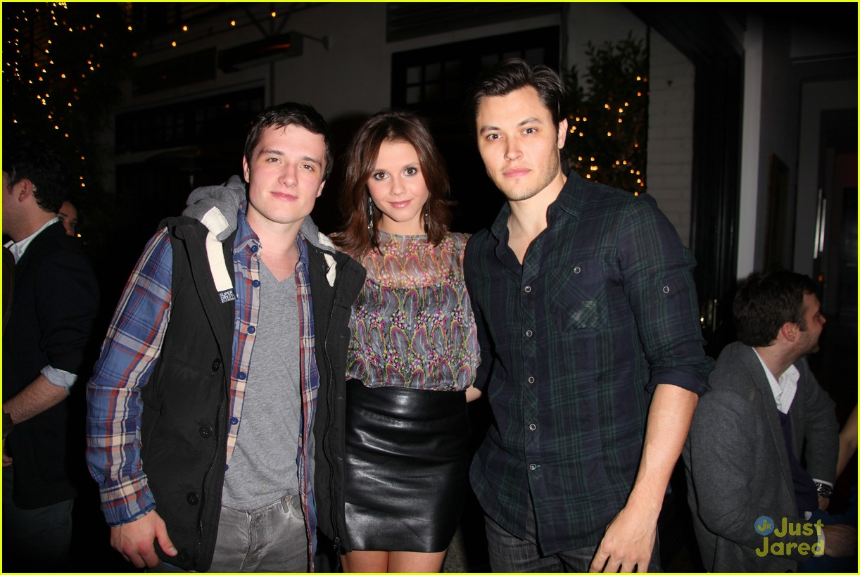 josh hutcherson nylon party 09