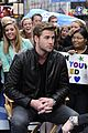 Liam-gma liam hemsworth gma toronto premiere 16