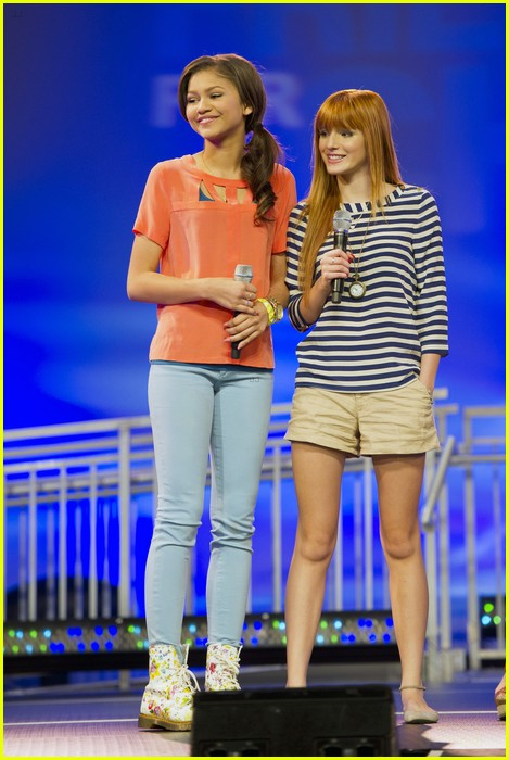 bella thorne zendaya kids nature wdw 12