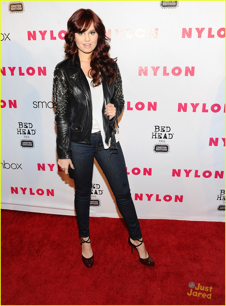 debby ryan nylon party 02