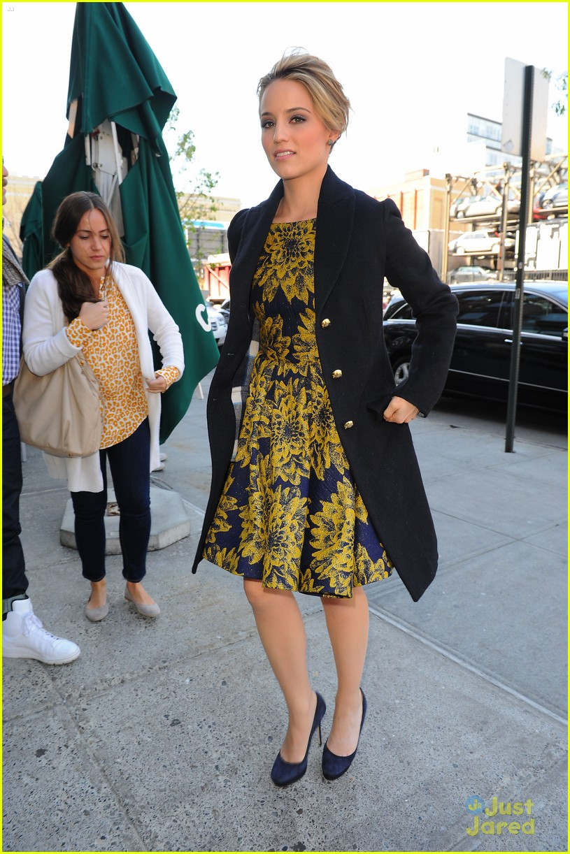 dianna agron the view nyc 02