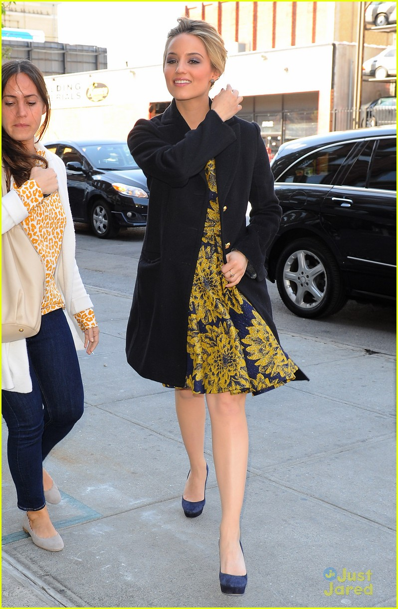 dianna agron the view nyc 03