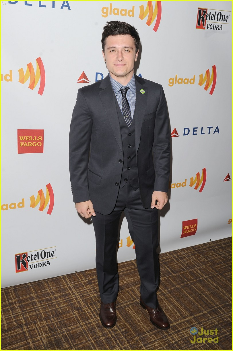 josh hutcherson glaad media awards 03
