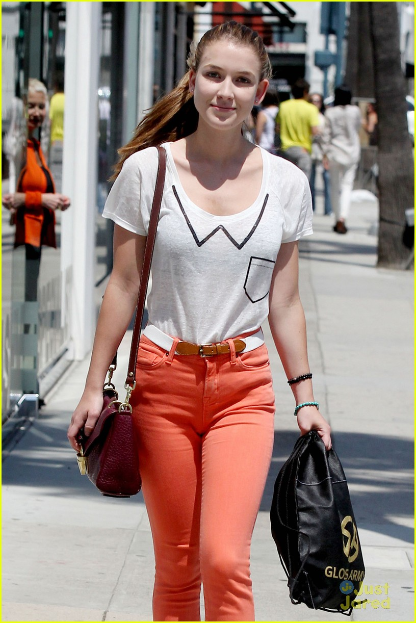 nathalia ramos orange pants 04