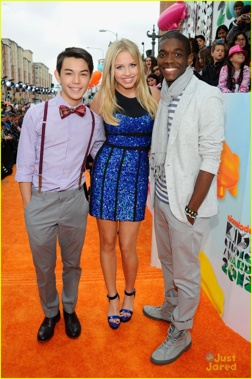 supah ninjas kids choice awards 05