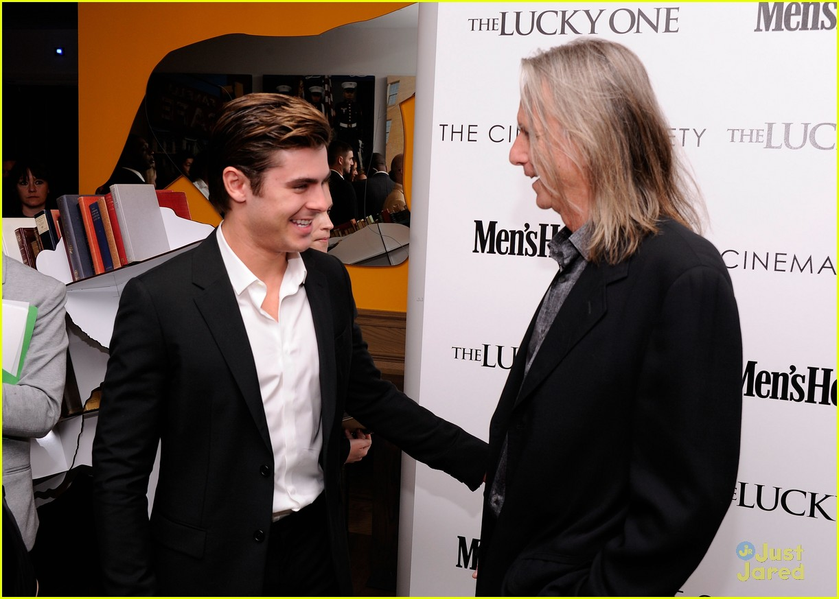 zac efron lucky screening nyc 07